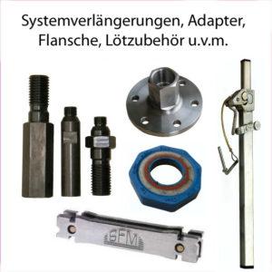 Adapter Systemverlängerung Flansche